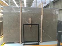 Turkey Latte Grey Marble Slab Tiles Walling Use