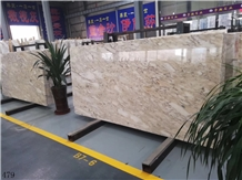 Winter Palace Imperial Jade Marble Yellow Slabs