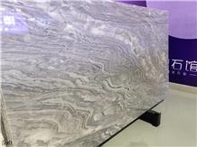Zacapa Nublado Rio Grey Gray Marble Slab Wall Tile