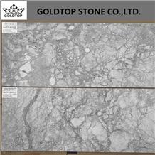 Brazil Super White Quartzite Tiles for Project 1cm