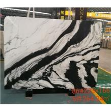 Panda White Marble for Interior Flooring Tile