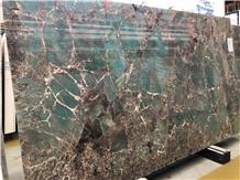 Amazonita Green Granite Brazil Slabs Tiles Luxury