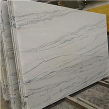 Brazil Polished Lamberti Bianco Quartzite Slabs