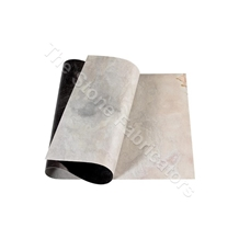 Sanjayani White Slate Stone Veneer Sheet-Slate Stone Thin Flexible Fabric Fleece Veneer Sheet