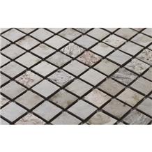 Sanjeevani White Mosaic Stone