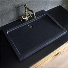 China G684 Black Granite Vassel Sink Wash Basin