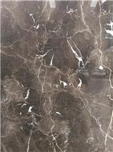 Polished Dark Emperador Marble Wall Slabs&Tiles