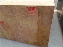 Giallo Numidia Marble Blocks
