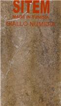 Giallo Numidia Marble Slabs, Tiles