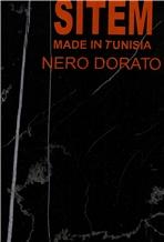 Nero Dorato Marble Slabs, Tiles