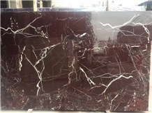 Custom Marble for Walling Rosso Levan Marble Slabs