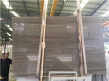 China Natural Elegant Wooden Brown Marble