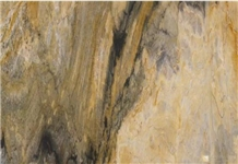 Flame Golden Marble Onyx for Interior Background