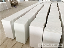 Crystal White Marble Tiles - Polished