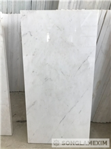 Milky White Crystal Marble Polished - Tiles