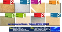Multicolor Marble Tiles & Slabs