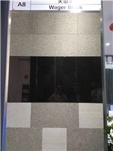 Tianshan Black, Wager Black Granite Slabs,Tiles