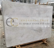 Abba Grey, Yabo Whie Marble Slabs Tiles Floor Wall