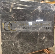 Baltic Gray Marble, Afyon Grey Marble Slabs Tiles