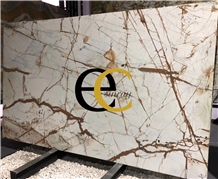 Brazil Roma Imperiale Multicolor Quartzite Slabs