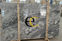 Canadian Victoria Nuvola Grey White Marble Slabs
