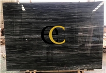 Cartier Black Fusion Marble Slabs Tiles Floor Wall