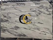 China Black Ink White Marble Slabs & Tiles