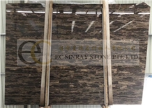 China Gold Coast Brown Marble Slabs & Tiles