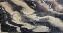 Cipollino Ondulato Marble, Majestic Ocean Luana Marble Slabs