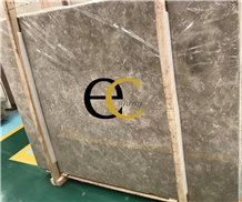 Dora Ash Cloud Grey Marble Slabs Tiles Floor Wall