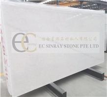 Linken White, Lincoln White Marble Slab Tile Wall