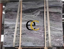 Myanmar Mystic River Black Marble Slabs Tiles