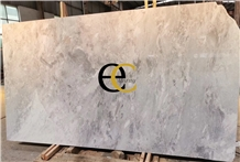 New Tundra Grey Marble, Northern Light Slabs Tiles