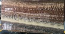 Onice Red Vulcano, Volcano Onyx, Slab Tile Floor