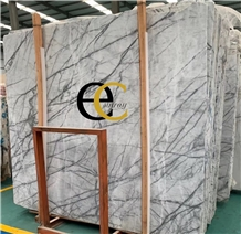 Picasso White Marble, Orchid Jade Slabs & Tiles