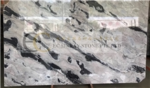 Shadow Grey Sky Storm Marble Slab Tile Floor Wall