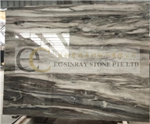 Solar Grey Marble Slabs Tiles Floor & Wall