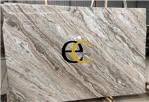 Toronto Cadbury Glacier Sands Brown Marble Slabs