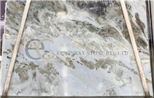 Tropical Blue Sky Marble Slabs, Fantasy Sand Palissandro