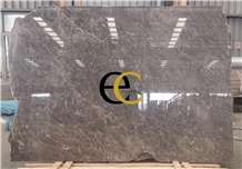 Turkey Karaman Cascata Grey Marble Slabs Tiles