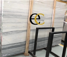 Yushu Grey Wooden Grain Marble Slabs & Tiles