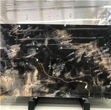 High Quality Best Price Phantom Black Marble Slabs