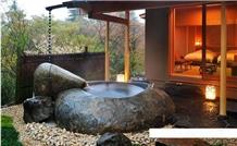 Luxury Freestanding Granite and Marble Bath Tub