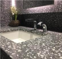 Matt Morden Terrazzo 60x60 Glazed Cement