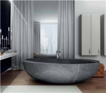 Modern Stone Marble Freestanding Bathtub