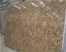 Brazil Fiorito Golden Diamond Granite Slabs Tiles