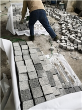China Grey Granite G603 Landscaping Cubes,Cobbles