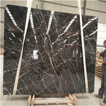 China Laurent Brown Marble Slabs