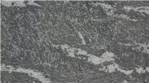 Snow Leopard Black Granite Flamed Tiles