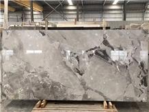 China Grey Marble Slab